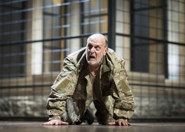 <p>David Troughton as Titus Andronicus</p><br />© Helen Maybanks