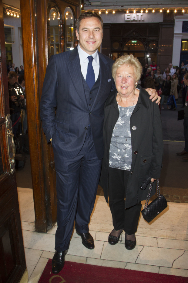 <p>David Walliams and Kathleen Williams</p><br />© Dan Wooller for WhatsOnStage