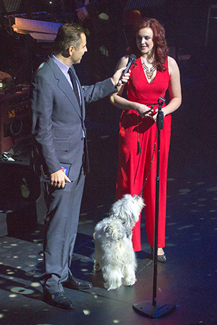 <p>David Walliams, Ashleigh Butler &amp&#x3B; Pudsey</p><br />© Peter Gibbons