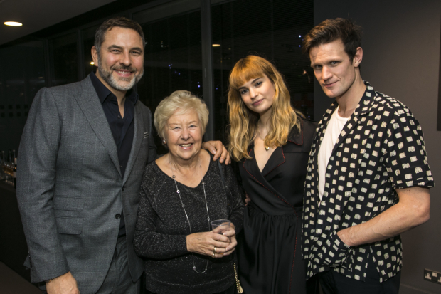 <p>David Walliams, Kathleen Williams, Lily James and Matt Smith</p><br />© Dan Wooller