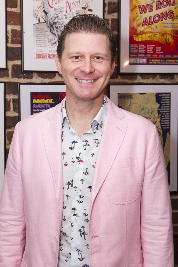<p>Dean Chisnall (George)</p><br />©Dan Wooller for WhatsOnStage
