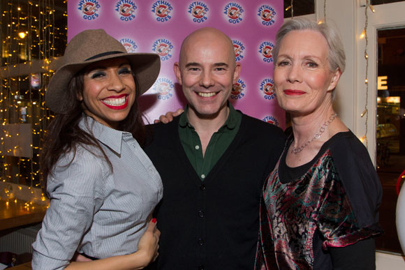<p>Debbie Kurup, Daniel Evans and Jane Wymark</p><br />© Dan Wooller for WhatsOnStage