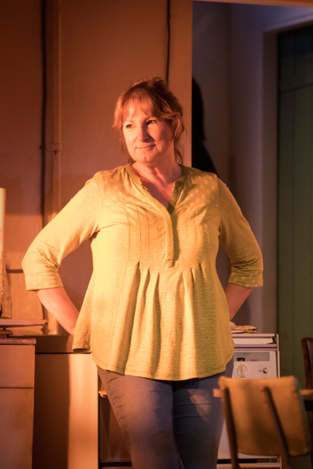 <p>Deborah Findlay (Hazel) in <em>The Children</em></p><br />© Johan Persson