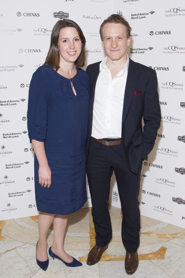 <p>Deborah Parker and Jamie Parker (Mike Connor)</p><br />© Dan Wooller for WhatsOnStage