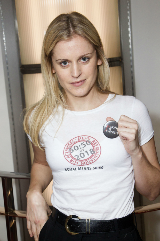 <p>Denise Gough who won for best actress for <em>People, Places and Things</em></p><br />© Dan Wooller