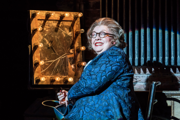 <p>Di Botcher as Hattie Walker in <em>Follies</em> at the National Theatre</p><br />© Johan Persson