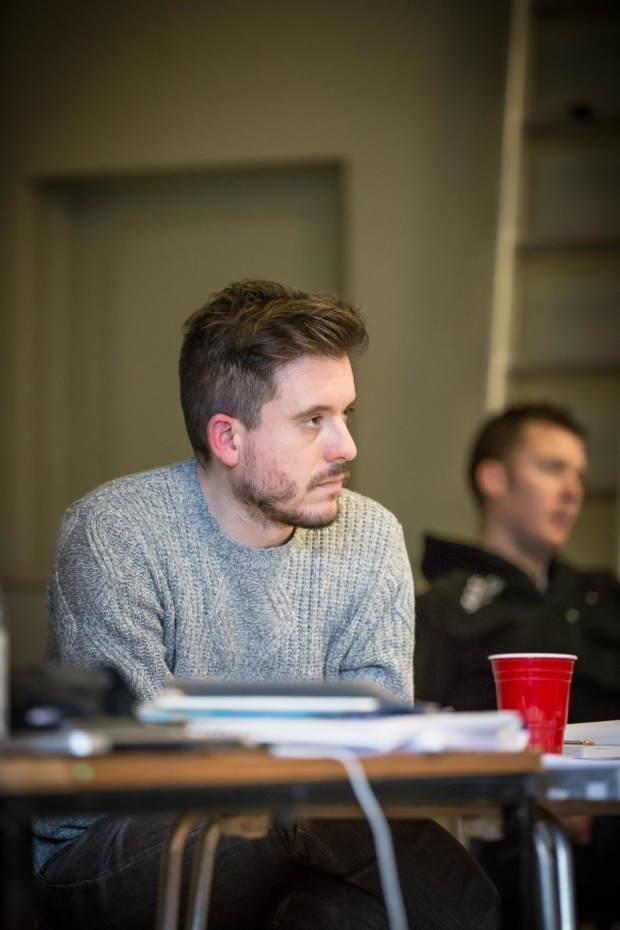 <p>Director Michael Longhurst in rehearsal for<em> Caroline, or Change</em></p><br />© Marc Brenner