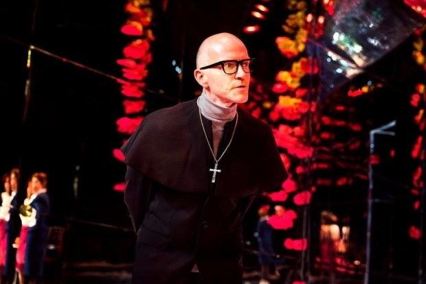 <p>Dominic Garely as Dr Chasuble</p><br />© Tom Wren