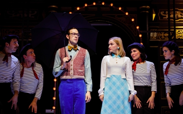 <p>Dominic Marsh and Carly Bawden in <em>Romantics Anonymous</em></p><br />© Steve Tanner 2017