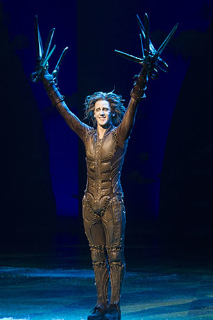 <p>Dominic North (Edward Scissorhands)</p><br />© Dan Wooller for WhatsOnStage