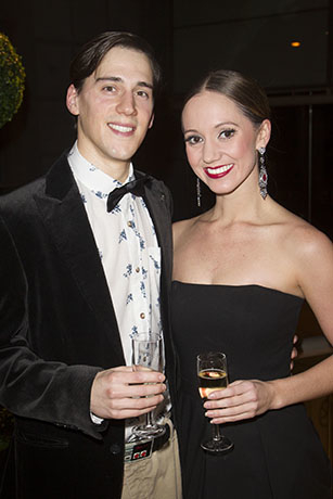 <p>Dominic North (Edward Scissorhands) and Ashley Shaw (Kim Boggs)</p><br />© Dan Wooller for WhatsOnStage