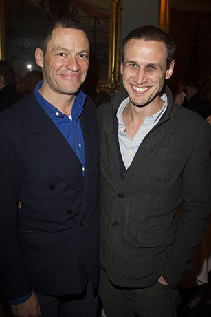 <p>Dominic West and Martin Hutson (Hans Litten)</p><br />Dan Wooller for WhatsOnStage