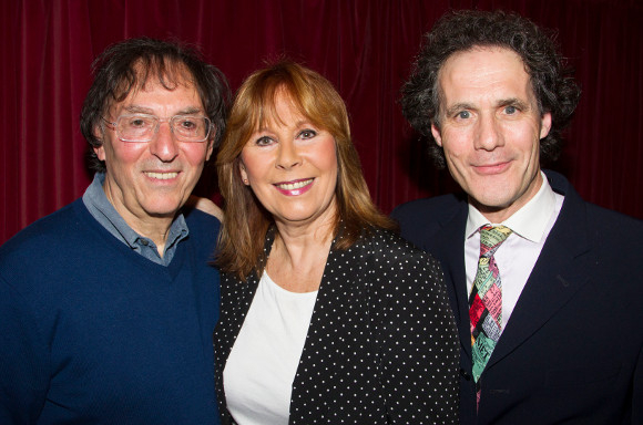 <p>Don Black, Marti Webb and Robert Mackintosh</p>