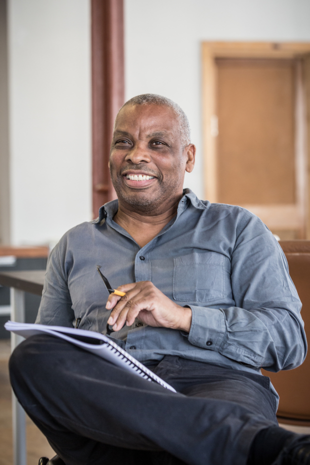 <p>Don Warrington as George Aaronow</p><br />© Marc Brenner