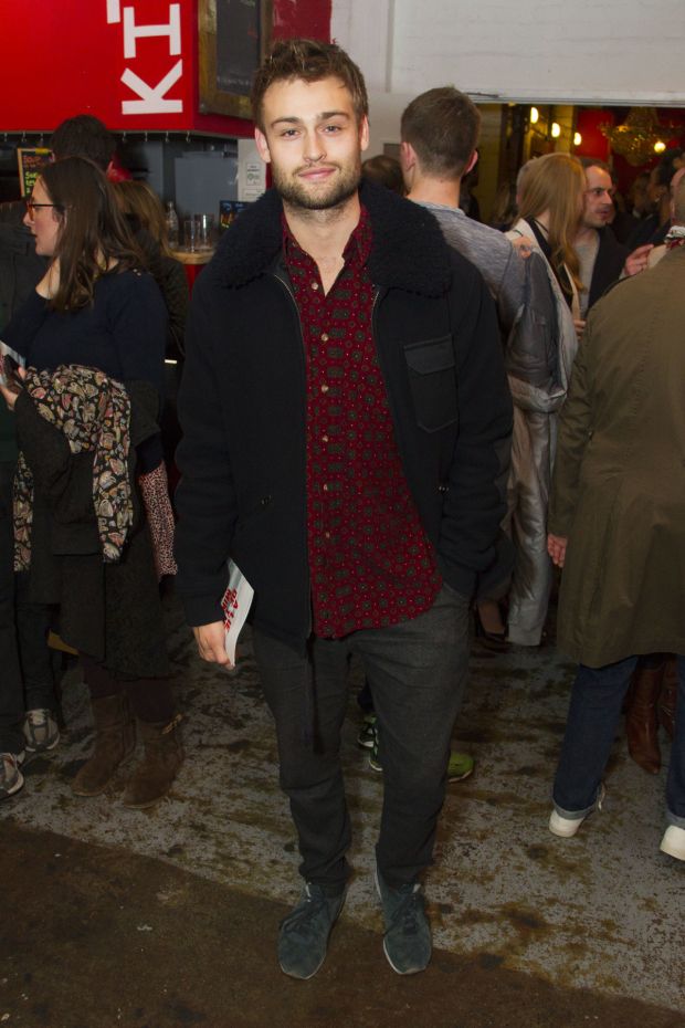 <p>Douglas Booth</p><br />© Dan Wooller for WhatsOnStage