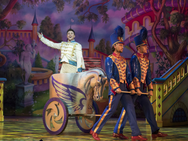 <p>Duncan James (Prince Charming) in <em>Snow White and the Seven Dwarfs</em></p><br />© Alastair Muir