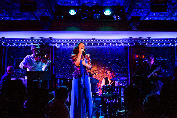 <p>Eden Espinosa at 54 Below</p>