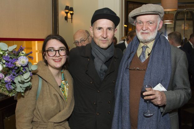<p>Eden Rickson, Ian Rickson (director) and Anthony Page</p><br />© Dan Wooller for WhatsOnStage