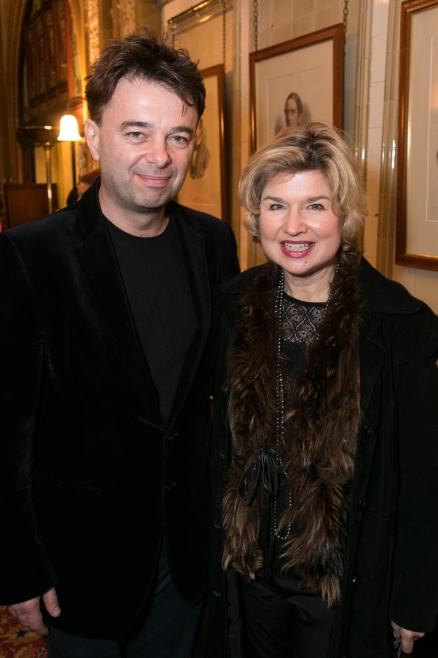 <p>Edward Hall and Issy Van Randwyck</p><br />© Dan Wooller for WhatsOnStage
