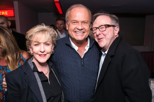 <p>Patricia Hodge Kelsey Grammer and Edward Hibbert,  </p><br />© Dan Wooller for WhatsOnStage