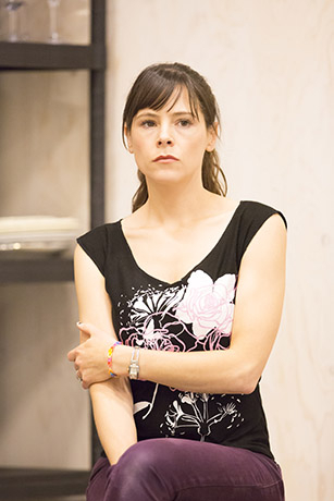 <p>Elaine Cassidy in rehearsal for <em>Fathers and Sons</em></p><br />© Johan Persson
