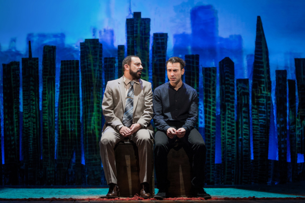 <p>Emilio Doorgasingh and Ben Turner  in <em>The Kite Runner</em></p><br />© Robert Workman
