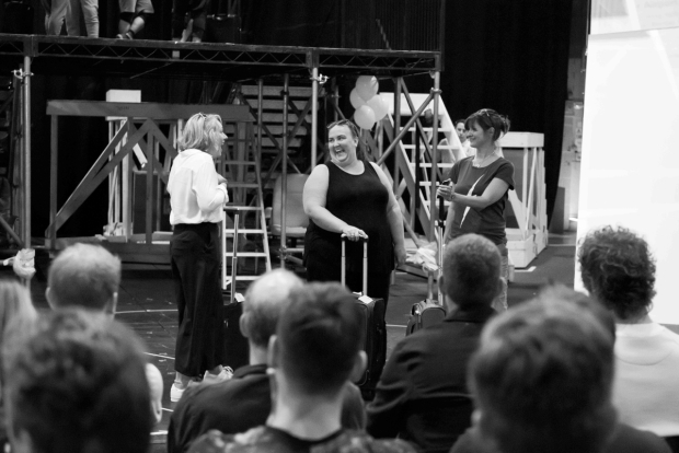 <p>Emily Joyce as Heather, Alison Fitzjohn as Claire &amp&#x3B; Jayne McKenna as Zoe</p><br />© Matt Crockett