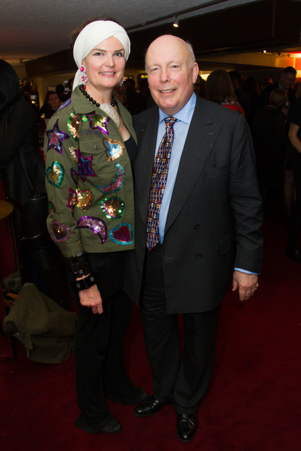 <p>Emma Fellowes and Julian Fellowes (author)</p><br />© Dan Wooller for WhatsOnStage