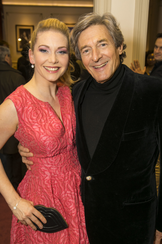 <p>Emma Williams (Alice Fitzwarren) and Nigel Havers (Captain Nigel)</p><br />© Dan Wooller