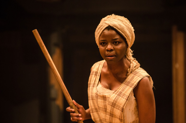 <p>Emmanuella Cole in <em>An Octoroon</em> </p><br />©The Other Richard
