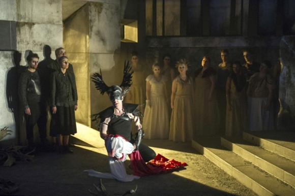 <p>English Touring Opera won the Award for Outstanding Achievement in Opera for its brave and challenging touring productions at the Linbury Studio Theatre, Royal Opera House</p>