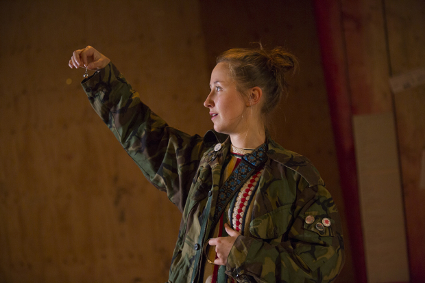 <p>Erin Doherty in <em>My Name is Rachel Corrie</em></p><br />© Ellie Kurrtz