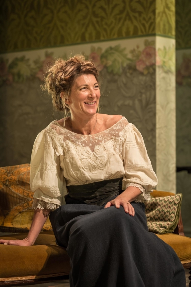 <p>Eve Best as Mrs Arbuthnot  in <em>A Woman of No Importance</em></p><br />© Marc Brenner
