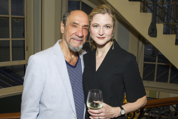 <p>F Murray Abraham (Benjamin Rubin) and Naomi Frederick (Gina)</p><br />© Dan Wooller for WhatsOnStage