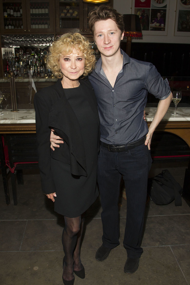 <p>Felicity Kendal and Jake Rudman</p><br />© Dan Wooller for WhatsOnStage