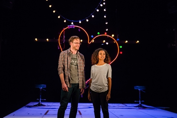 <p>Felix Scott and Ayesha Antoine in <em>Dirty Great Love Story</em></p><br />© Richard Davenport