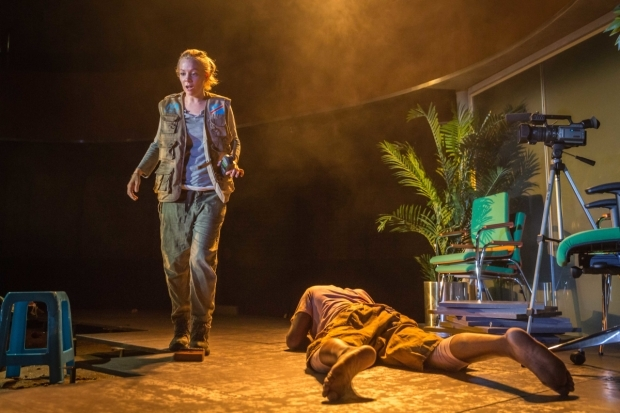 <p>Fiona Button in <em>They Drink It in the Congo</em></p><br />© Marc Brenner