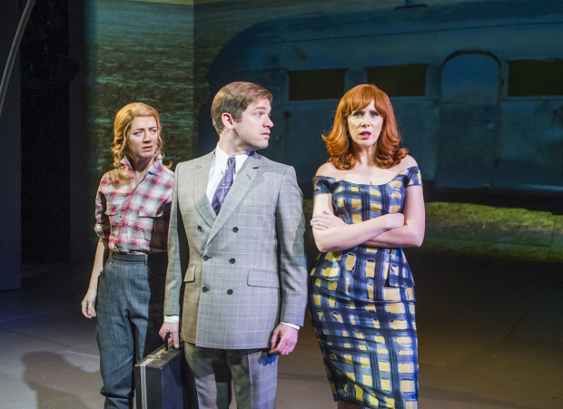 <p>Florence Andrews, Daniel Boys and Catherine Tate </p><br />© Tristram Kenton