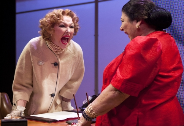 <p>Frances Barber and Miriam Margolyes</p><br />© Simon Annand