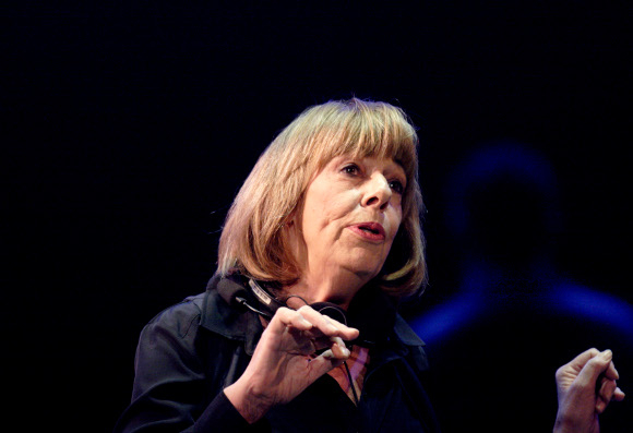 <p>Frances de la Tour as Kay in Alan Bennett's <em>The Habit of Art</em> (which she played in the NT premiere in 2009)</p><br />© Catherine Ashmore