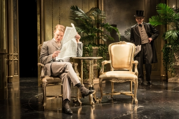 <p>Freddie Fox and Edward Fox</p><br />© Marc Brenner