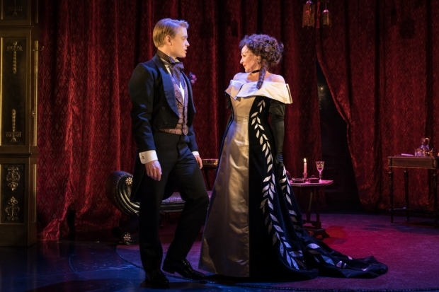 <p>Freddie Fox and Frances Barber</p><br />© Marc Brenner