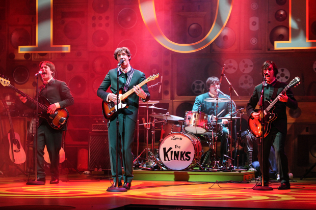 <p>Garmon Rhys (Pete Quaife),  Ryan O&#39&#x3B;Donnell (Ray Davies), Andrew Gallo (Mick Avory) and Mark Newnham (Dave Davies)</p><br />© Kevin Cummins