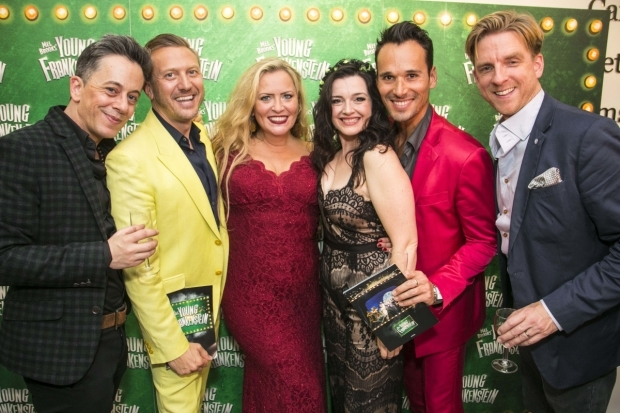 <p>Gary Jordan, Chris Hamilton, Nicole Faraday, Dianne Pilkington (Elizabeth), Shimi Goodman and Mark Goldthorp</p><br />© Dan Wooller for WhatsOnStage