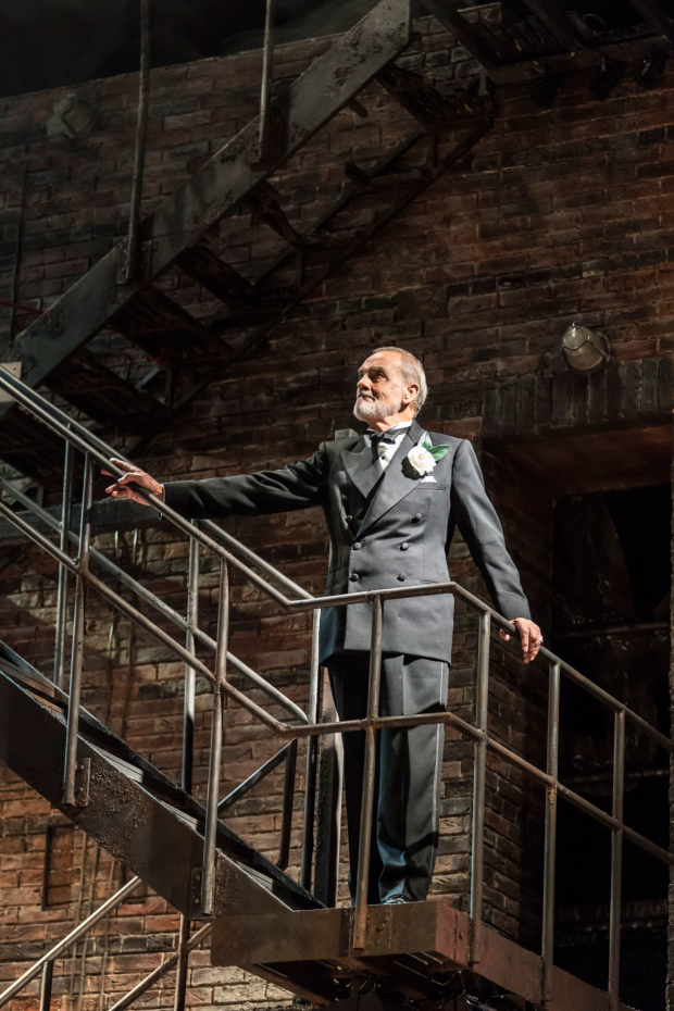 <p>Gary Raymond as Dimitri Weismann in <em>Follies</em> at the National Theatre</p><br />© Johan Persson