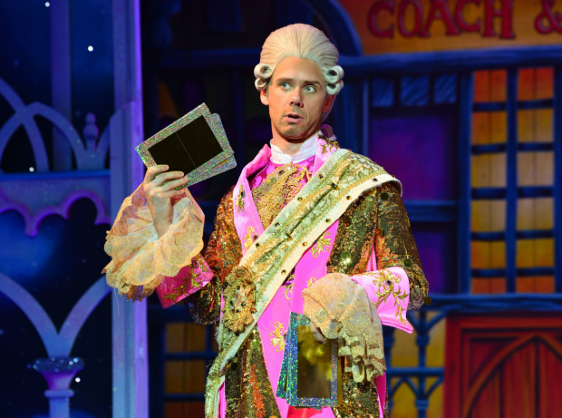 <p>Gary Watson as Dandini in <em>Cinderella</em></p><br />(C) Paul Coltas