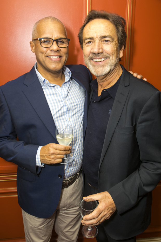 <p>Gary Wilmot (Sarah the Cook) and Robert Lindsay</p><br />© Dan Wooller