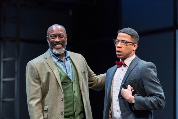 <p>Geff Francis and Michael Walters  in <em>Death of a Salesman</em></p>
