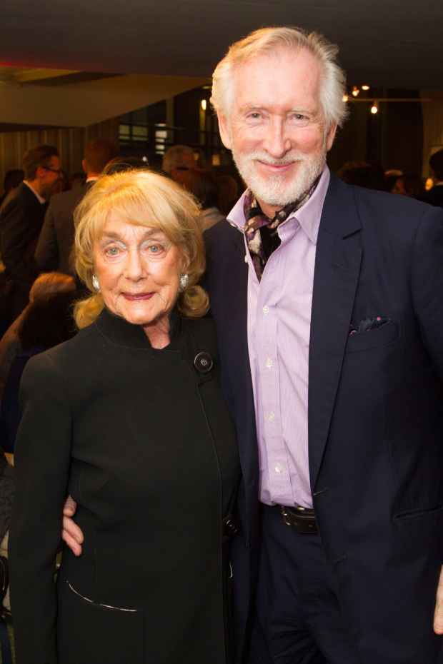 <p>Gillian Lynne and Peter Land</p><br />© Dan Wooller for WhatsOnStage