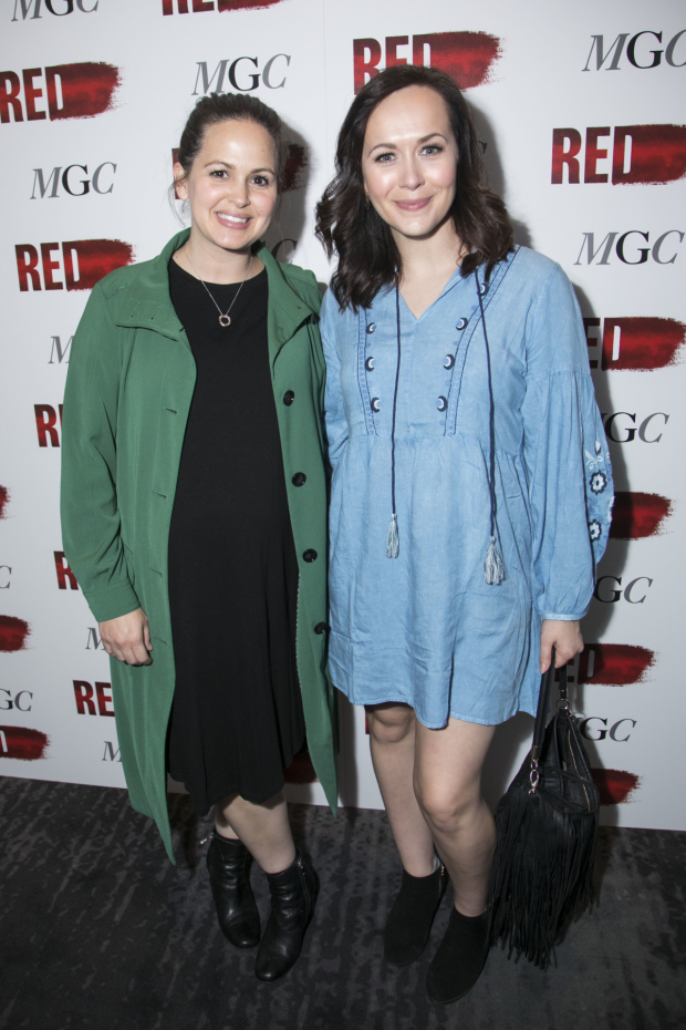 <p>Giovanna Fletcher and Savannah Stevenson</p><br />© Dan Wooller for WhatsOnStage